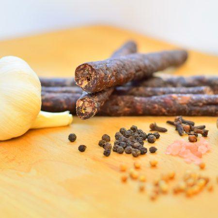 Garlic Droewors