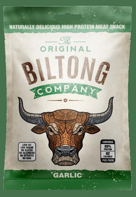 Garlic Biltong Snack Bag - 30g