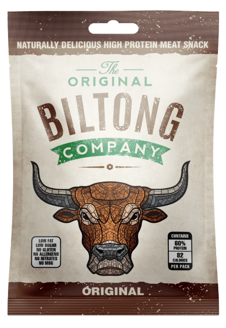 Original beef biltong snack bag - 30g