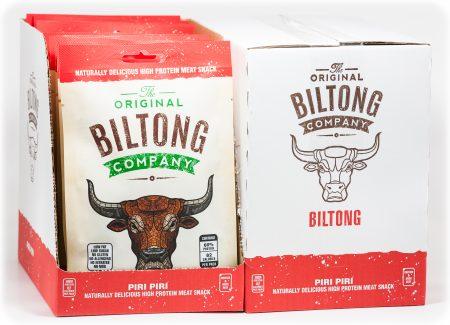 Original Biltong Company Piri Piri 30g bags in box