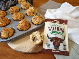 Biltong & Cheese Scones