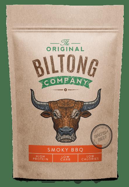 250g resealable Smoky BBQ Biltong