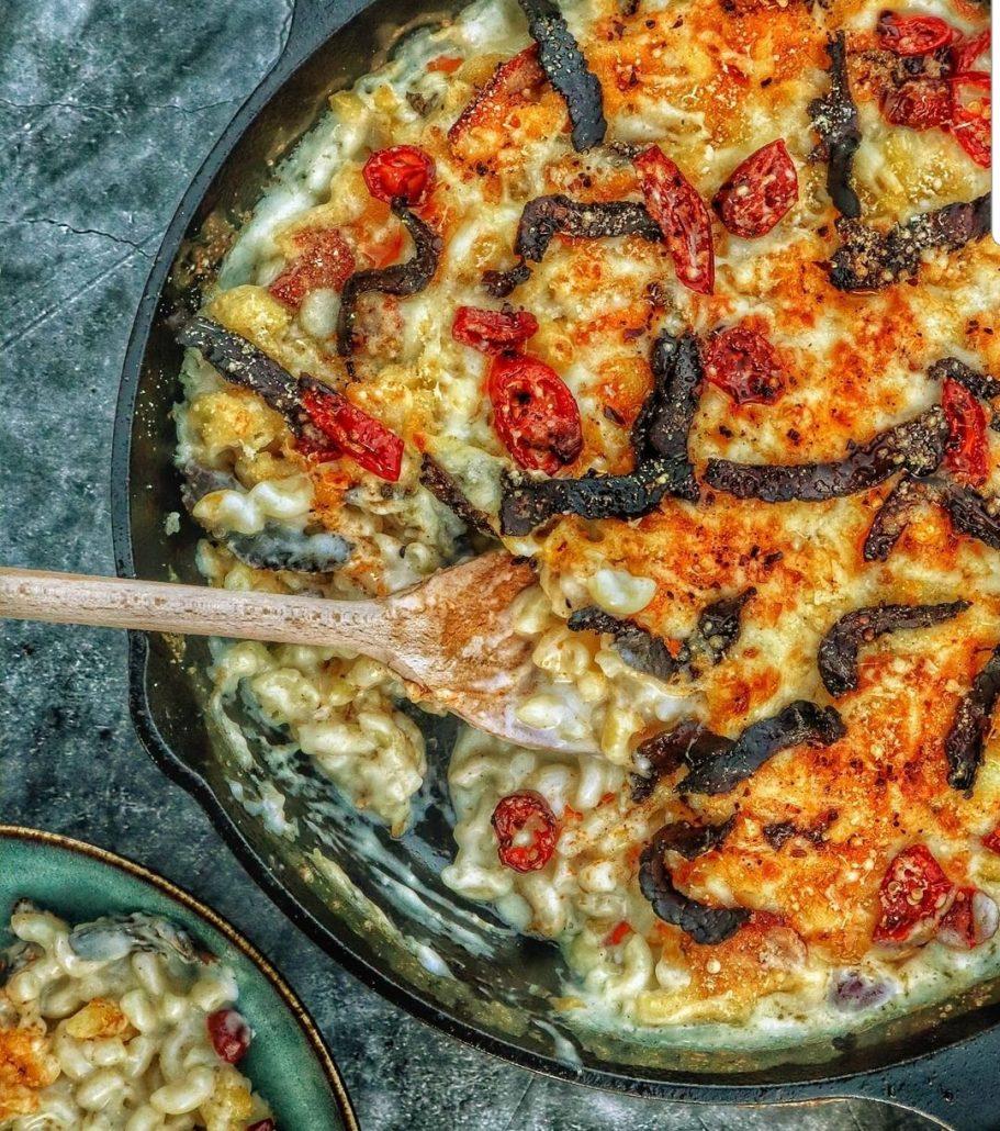 Chilli and Biltong Mac & Cheese